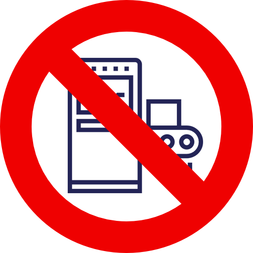 banned machine equipment